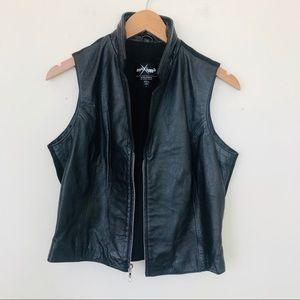 Wilsons Maxima Black Leather Vest